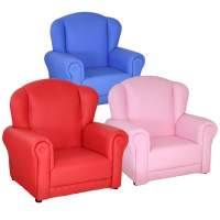 Childrens Mini Arm Chair In Pink 5376 Furniture in Fashion