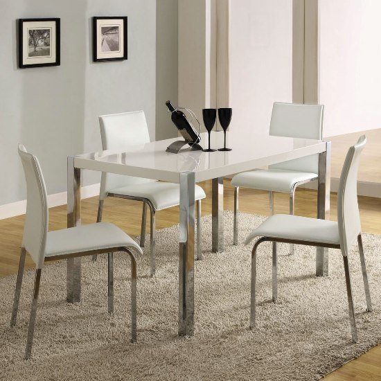 White Dining Table Chairs