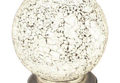 Contemporary Sphere Table Lamp Grey