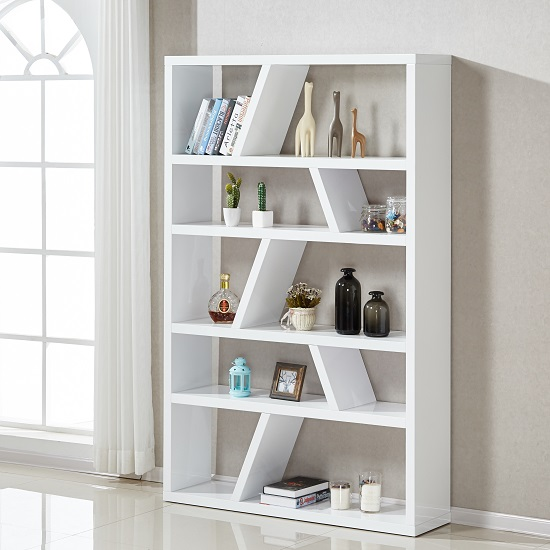 title   White Modern Bookshelf