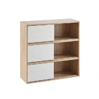 White Wooden Bookcases Type