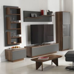 Walnut Furniture Living Room Contemporary Chandeliers For Michigan Set In And Grey With Led Lighting 1 Click To Enlarge