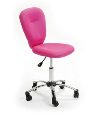Pezzi Children's Office Swivel Chair in Pink 19179