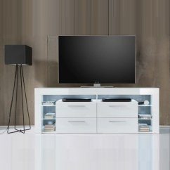 Best Price Living Room Furniture Tile Floors In Sorrento Tall Lcd Tv Stand White Gloss With Led