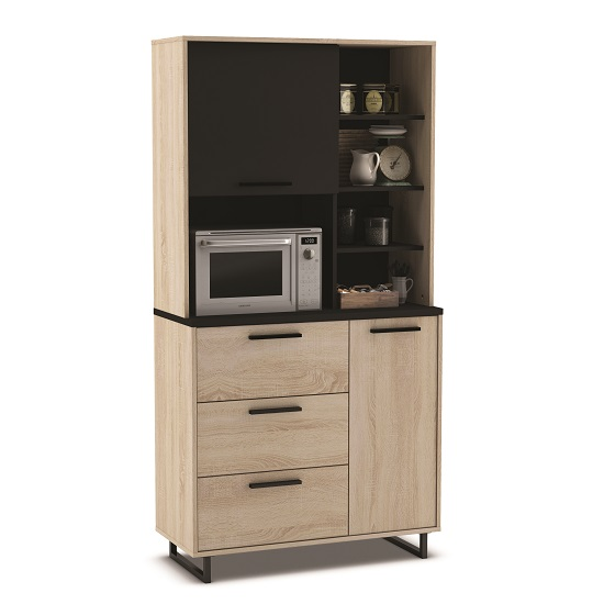 wooden wall units living room sets for sale in houston tx swift microwave storage cabinet tall gross oak and black