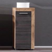 Wildon Bathroom Storage Cabinet In Walnut Touch Wood Dark ...