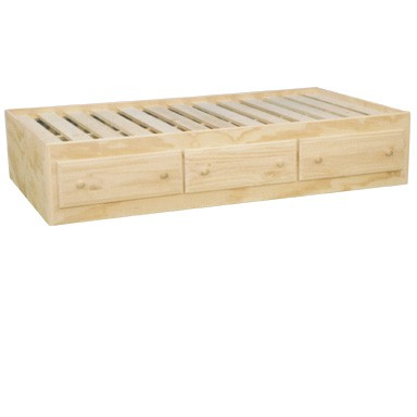 captain s storage bed with options in 3 wood options