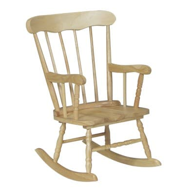 white wood rocking chair sport chairs bleachers whitewood kid s boston is a classic kids 69 99 furniture