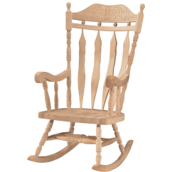 White Wood Rocking Chair Black And Arm Whitewood Carved Back Cannonball Rocker Main Navigation