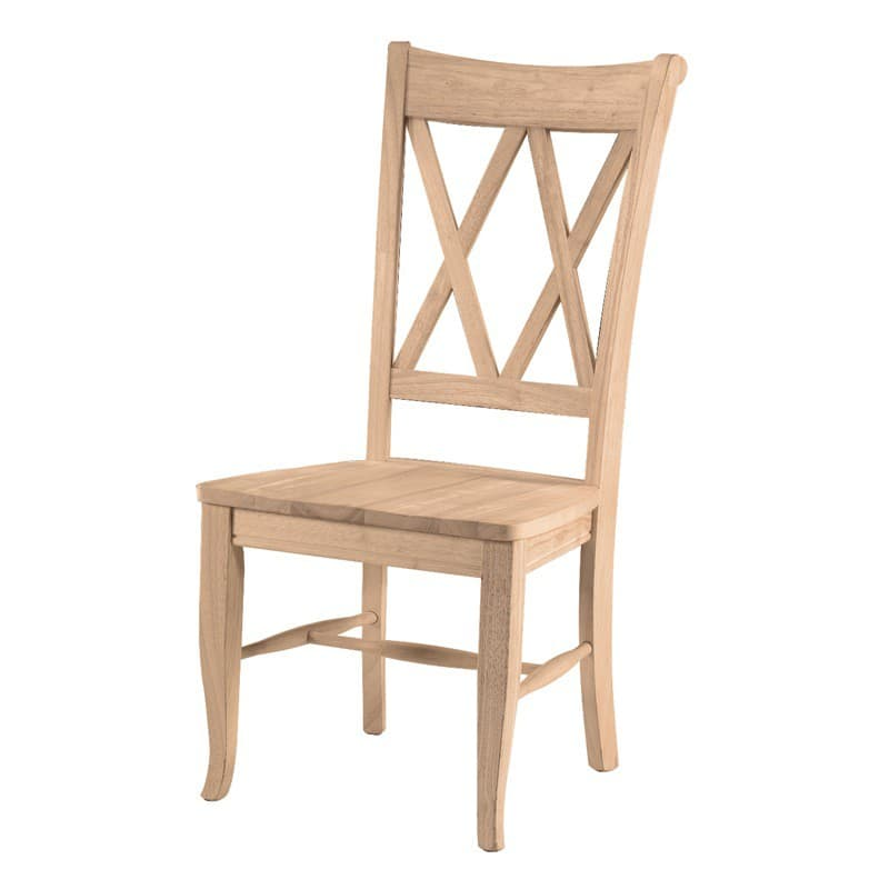 x back chairs rocking chair lowes the double is one of most comfortable dining unfinished