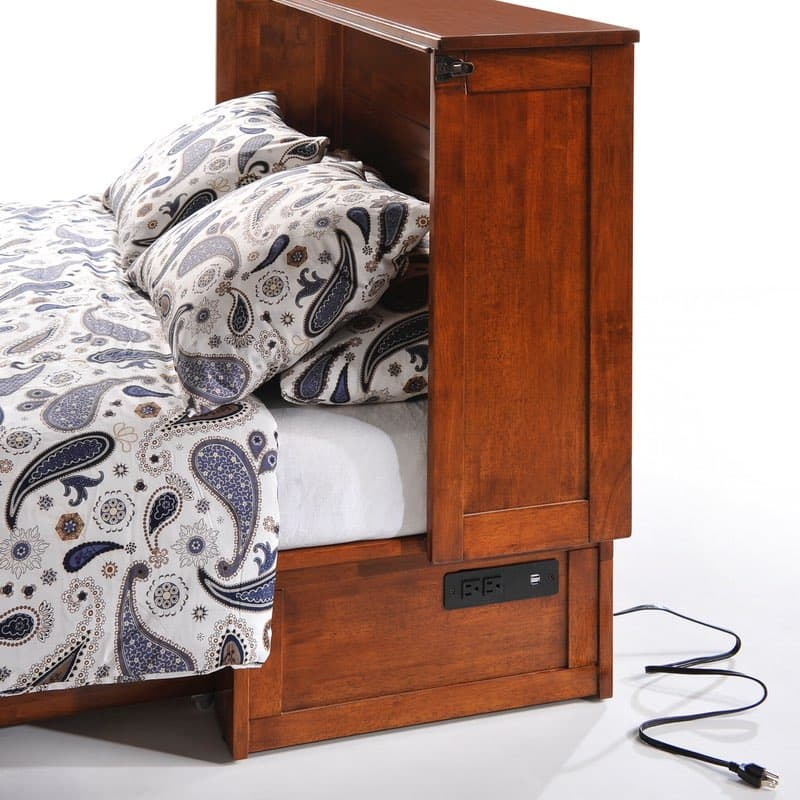 The Clover Murphy Bed Cabinet is a great guest bed
