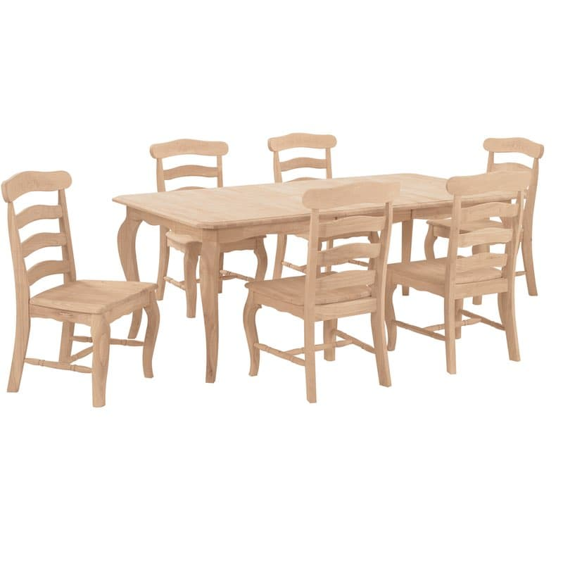 ladder back dining chairs glider chair replacement parts country french ladderback