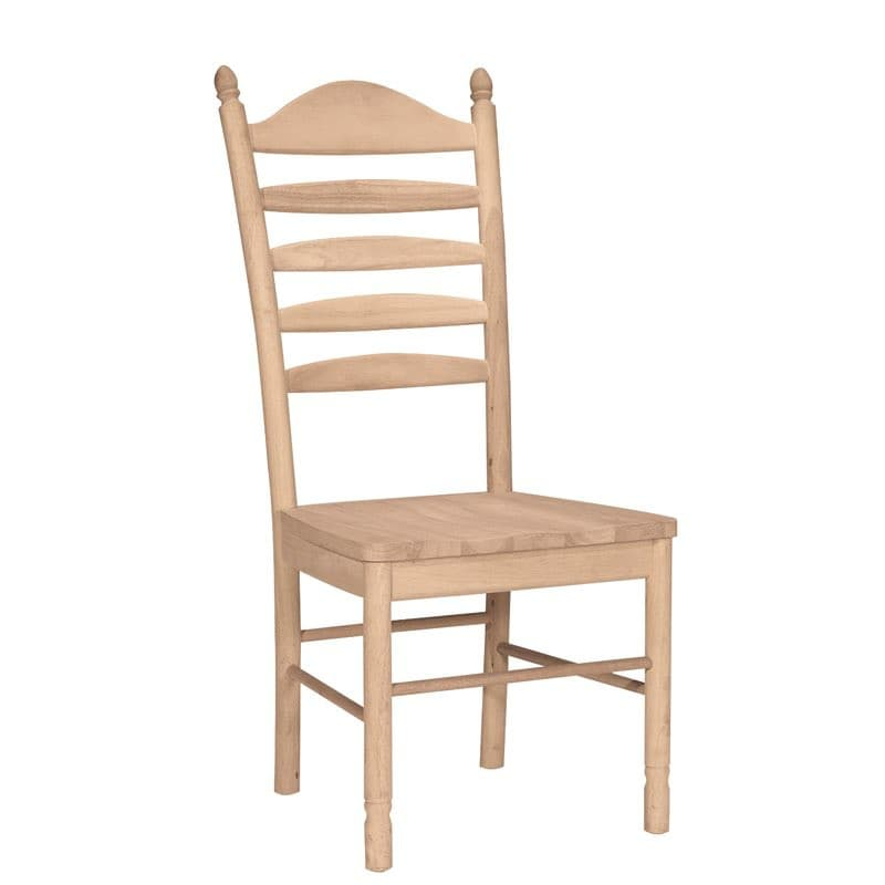 ladderback dining chairs portable folding massage chair the bedford is solid wood and ready to finish unfinished