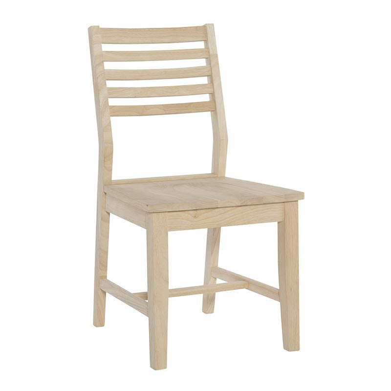unfinished ladder back chairs beach chair position the aspen side is and ready for your