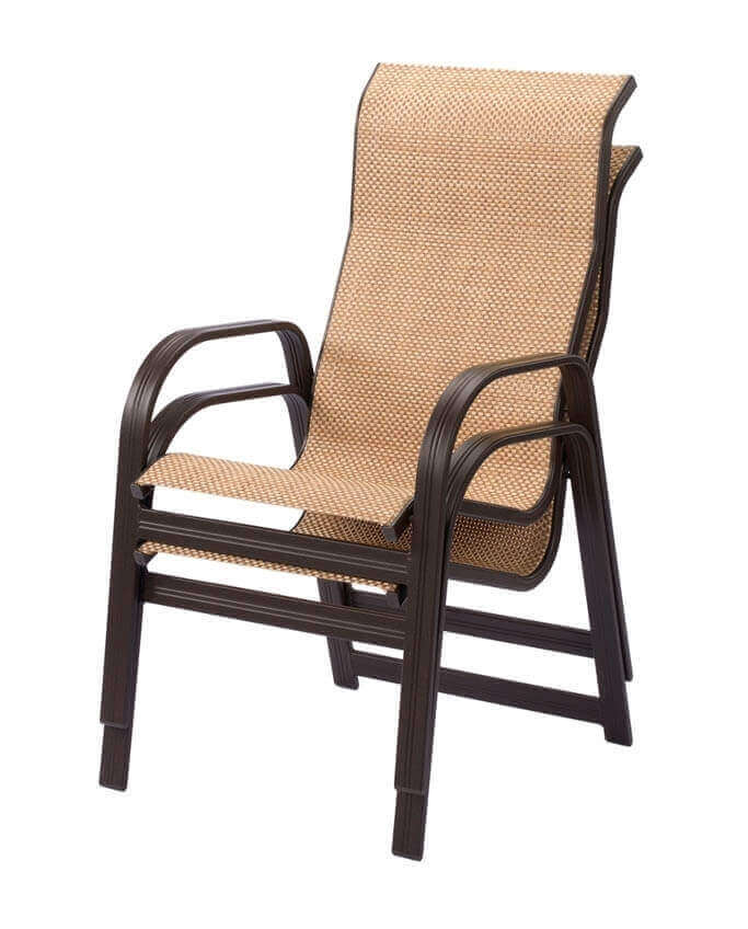 Cabo Dining Chair  Commercial Aluminum Frame with Sling