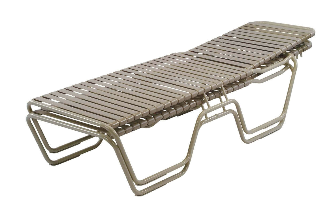 poolside lounge chairs outdoor chair with ottoman st maarten vinyl strap chaise commercial