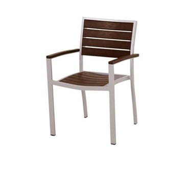 outdoor restaurant chairs wingback chair dining commercial seating furniture