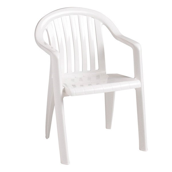 low back lawn chair 9 fisher price rocker miami lowback stacking commercial plastic resin armchair furniture