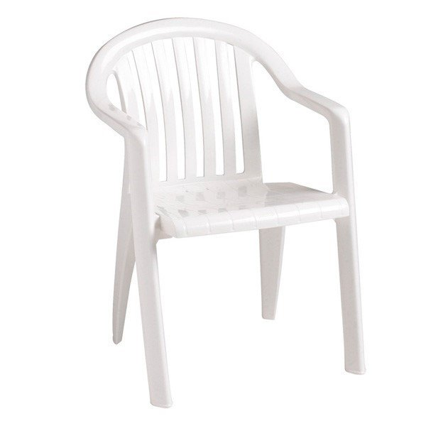 low back lawn chair 9 office tilt lock miami lowback stacking commercial plastic resin armchair furniture