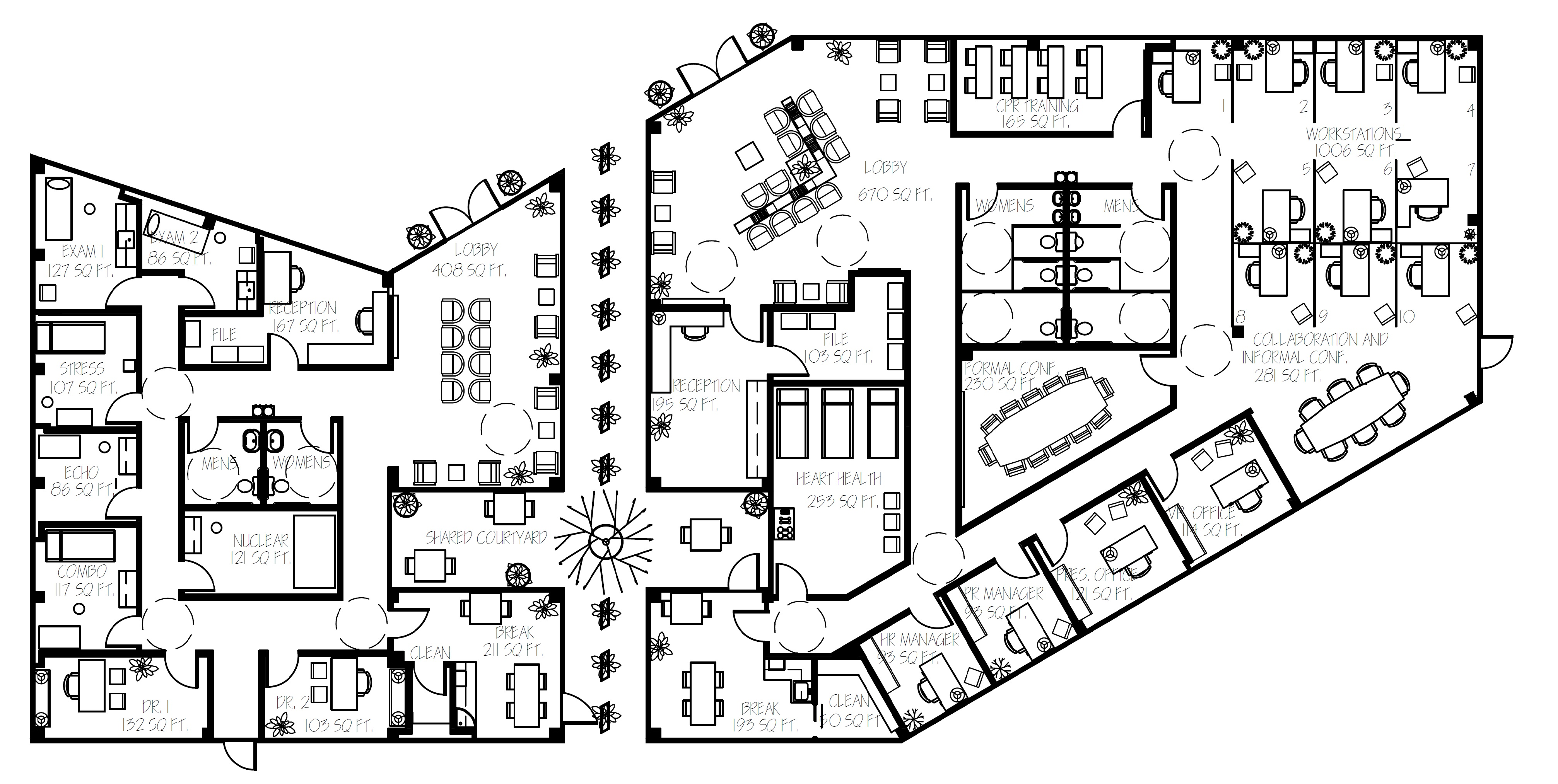 Brittany Privette Commercial I Floor Plan