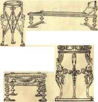Ancient Roman Furniture - Period Styles in Furniture