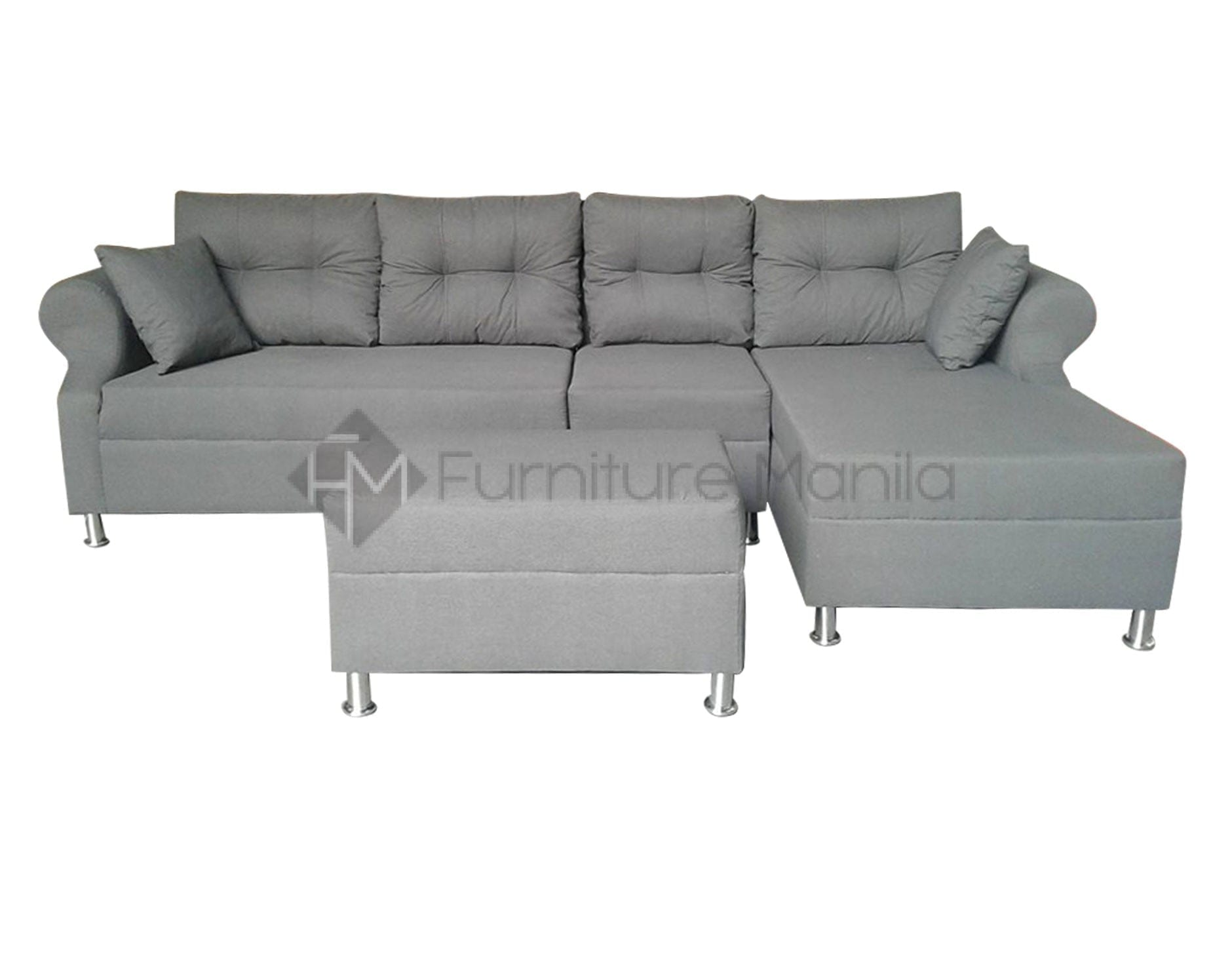 l shaped sofa for office set blocks ariane with stool home and furniture