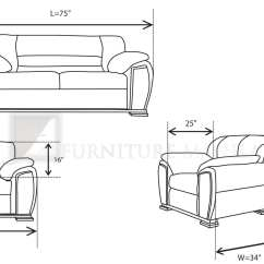 Standard Sofa Sizes In Mm Wooden Cushions Online India Furniture Manila