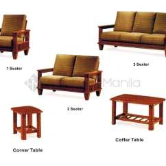 Teak Wood Sofa Set Philippines Small Slim Sectional Yg323 Home Office Furniture