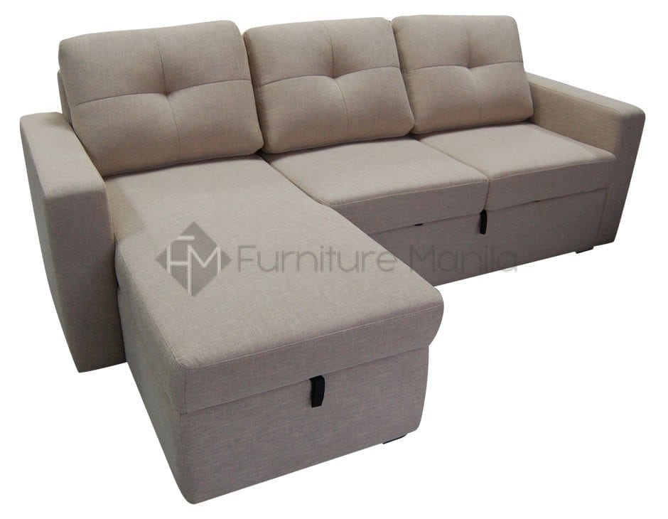 sofa bed for baby philippines black grey corner angel with storage home office furniture