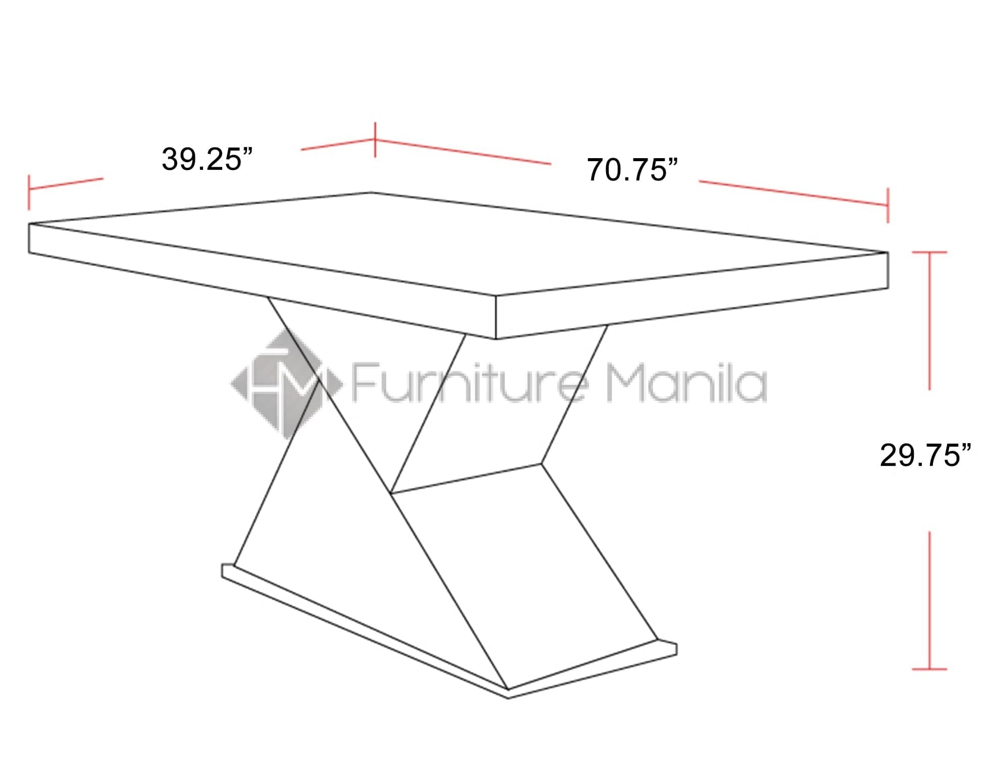 T003 Dining Table