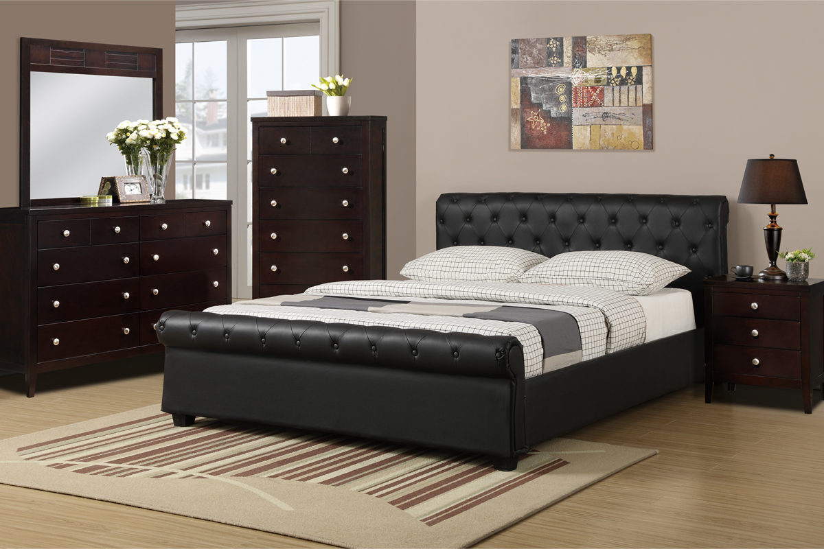 F9246 Queen Bed Frame Furniture Mattress Los Angeles And