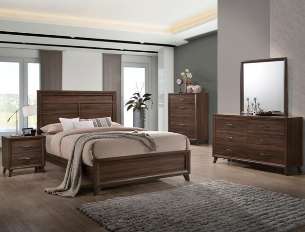 Darryl 4PC Bedroom Set B6930  Furniture Mattress Los Angeles and El Monte