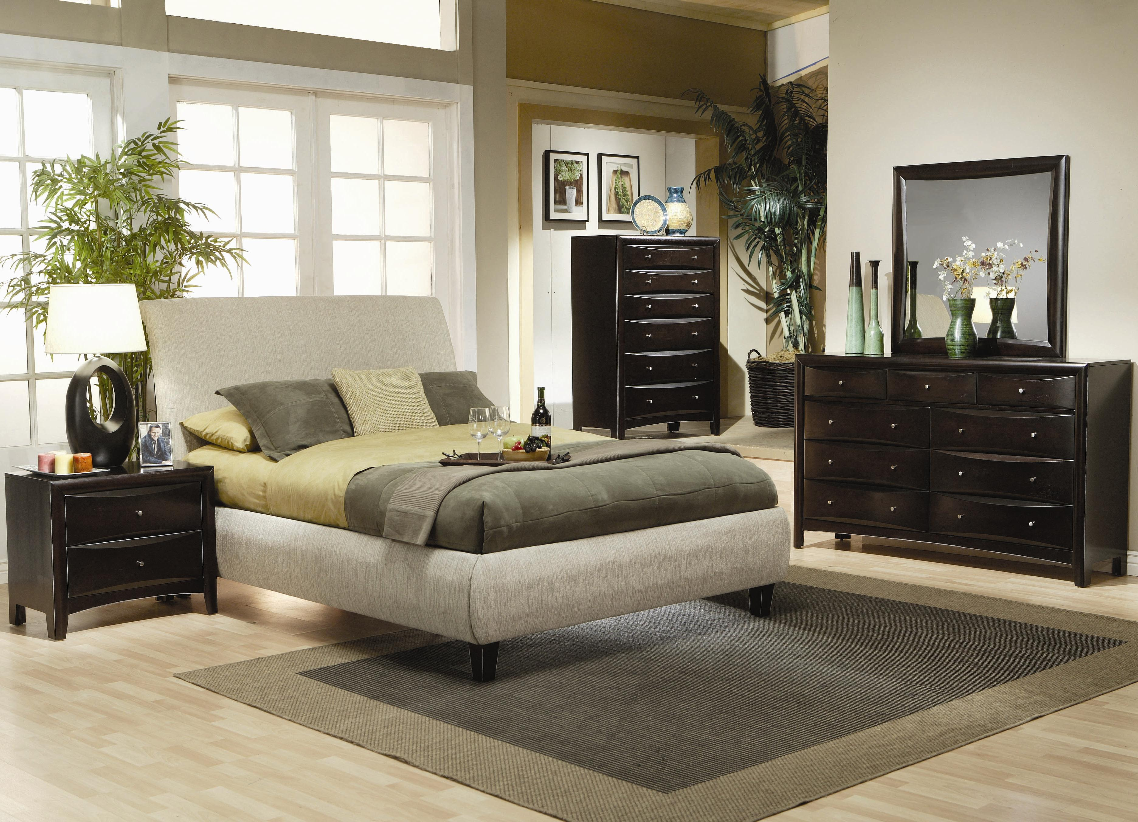 Phoenix 4pc Bedroom Set  Furniture Mattress Los Angeles