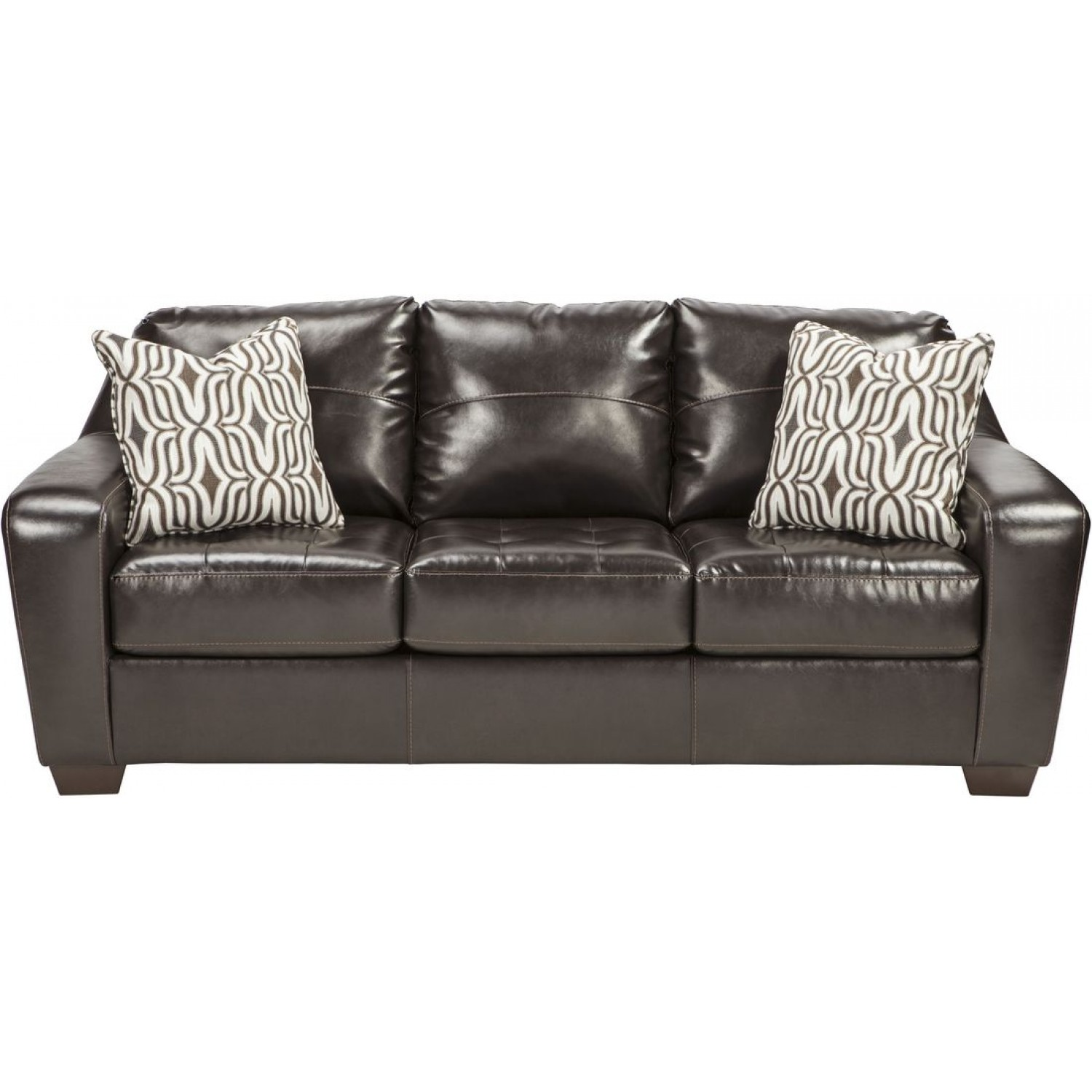 durablend sofa best leather sleepers ashley coppell chocolate dallas tx living