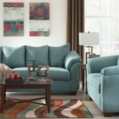 Ashley Furniture Darcy Sofa Reviews Futon Bed 2pc And Loveseat Set Dallas Tx Living
