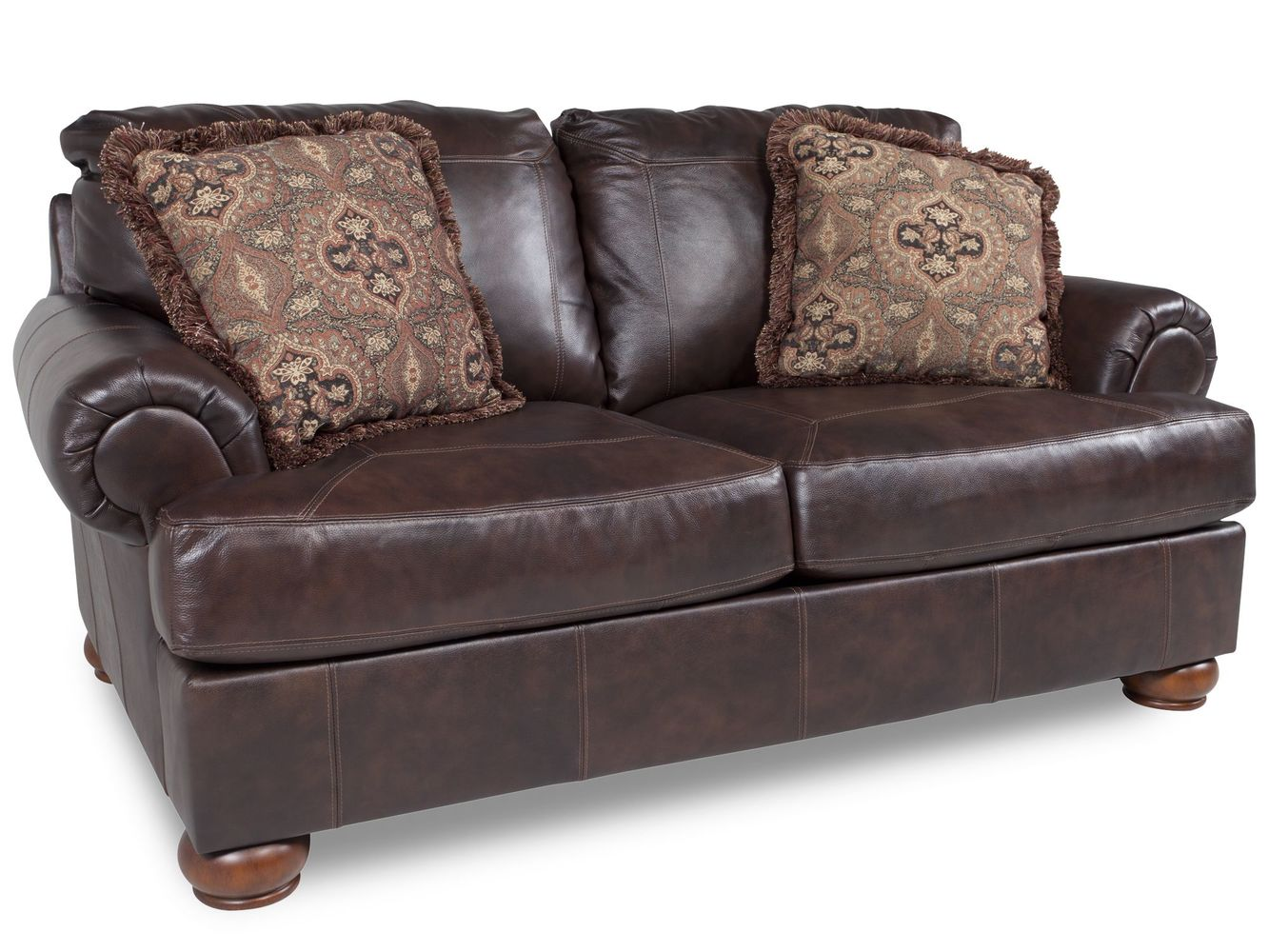 ashley axiom leather sofa ager sofas loveseat dallas tx living room