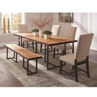 Coaster Suthers 5pc Beige Dining Table Set Dallas TX ...