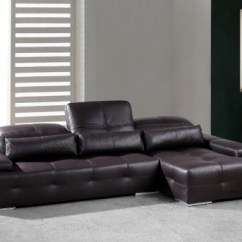 Sectional Sofa Dallas Fort Worth Home Theatre Seating Vig Divani Casa Sorrento Chocolate Brown Tx Available Online In Texas