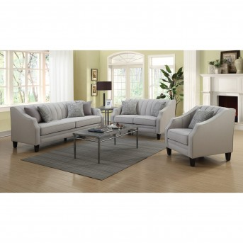living room furniture dallas tx paint colors for rooms with dark brown coaster loxley 2pc grey sofa loveseat set available online in fort worth texas