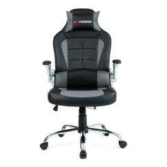 Impact X Rocker Chair Bungee Menards Gtforce Blaze Gaming With Recline In Black Grey