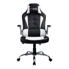 Impact X Rocker Chair Tall Dining Room Covers Gtforce Blaze Gaming With Recline In Black White