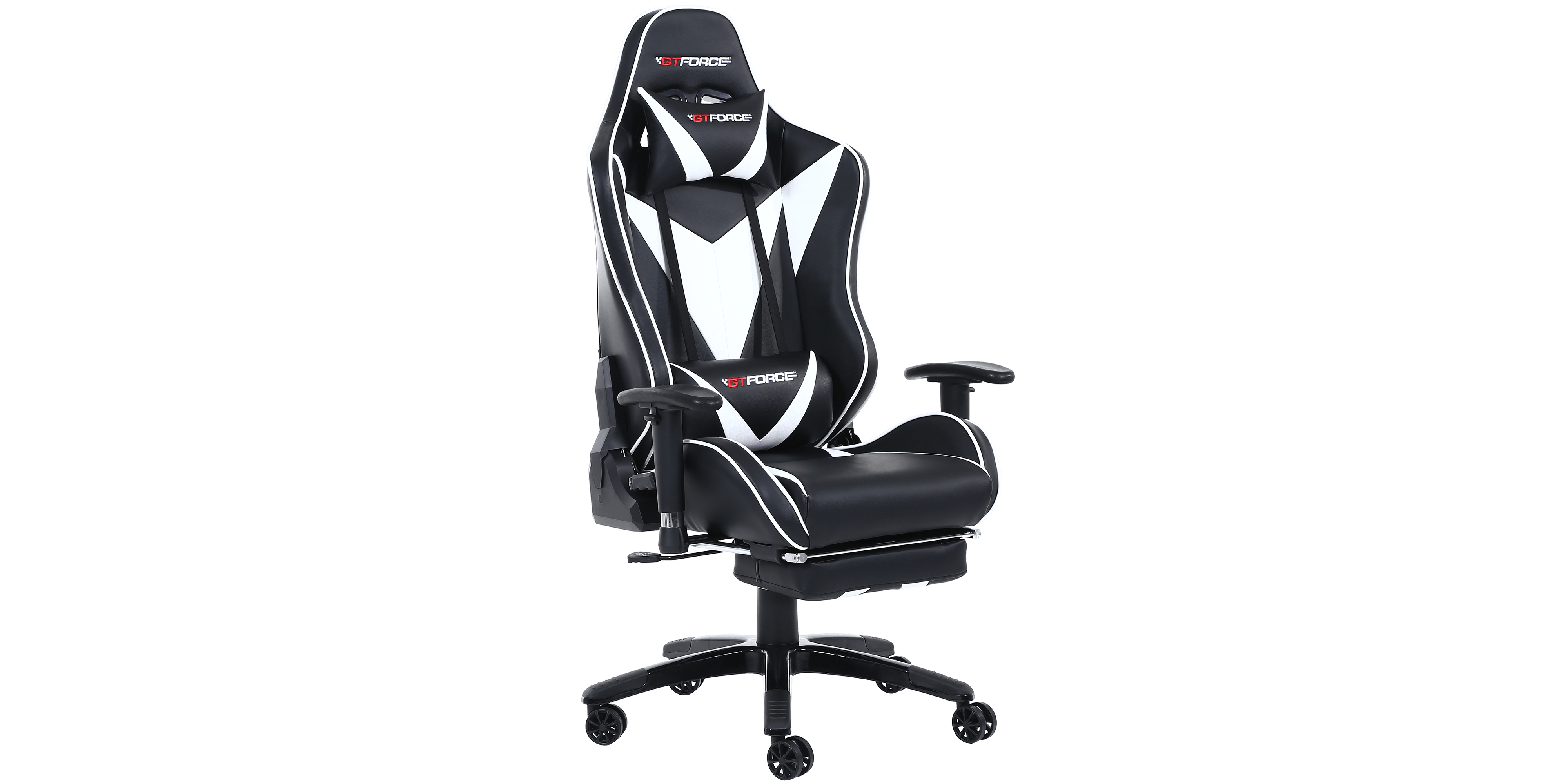 gaming chair with footrest walmart resin chairs formula mx recline and in black