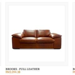 Full Grain Leather Sofa Malaysia Sofas South Africa - Grabit Furniture Online