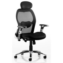 Influx Posture Chair Bamboo Dining Chairs Sydney Dynamic Savoy Executive Black Airmesh Seat With Mesh Back Arms