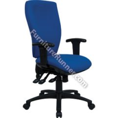 Posture Deluxe Chair Black Spindle Kitchen Chairs Cappela Square Back Kf03616s Jpg