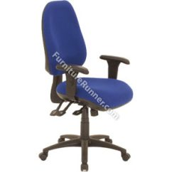 Influx Posture Chair Seaside Casual Chairs Gresham Platinum Ergo - With A8 Adjustable Arms