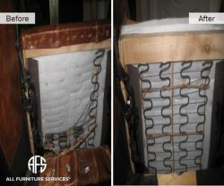 fixing a broken sofa arm black leather for office all furniture services® | repair & restoration ...