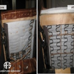 How To Repair Leather Sofa Springs George Smith Craigslist All Furniture Services® | & Restoration ...