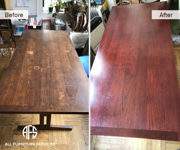 leather refinishing sofa beach house slipcover gallery, before after pictures | all furniture services ...