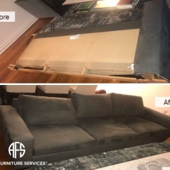 How To Fix Tear Leather Sofa Best Buy Gallery, Before After Pictures | All Furniture Services ...